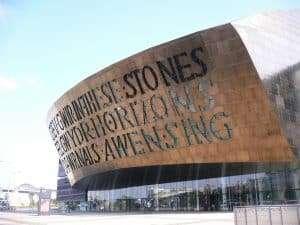 The Millennium Centre, Cardiff Bay